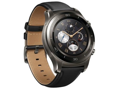Умные часы Huawei Watch 2 Classic (LEO-BX9) Titanium Grey, вид 3