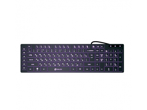 Клавиатура Oklick 560ML черная, вид 1
