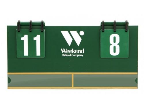 Комплект Weekend Billiard (табло, для турнира), вид 1