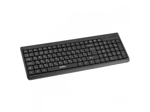 Клавиатура Perfeo PF-2506WL USB, черная, вид 1