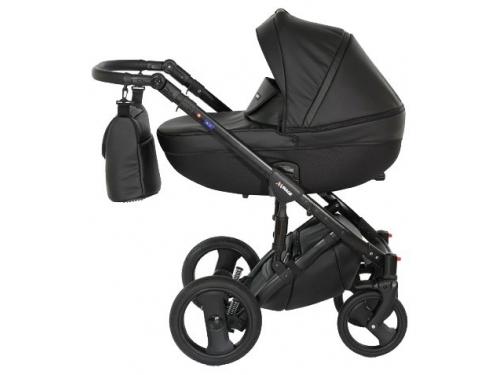 Коляска Verdi Mirage Eco Premium (3 в 1) 01, чёрная, вид 1
