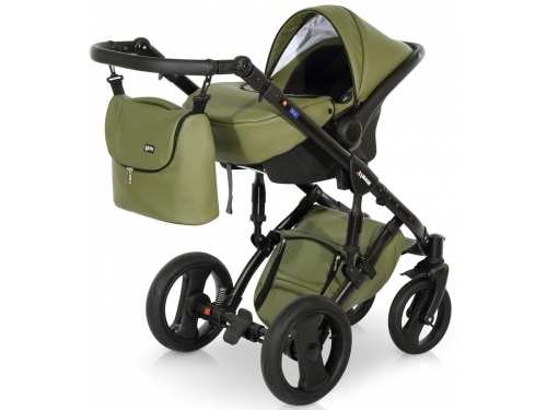 Коляска Verdi Mirage Eco Premium (3 в 1) 04, темно-бежевая, вид 7
