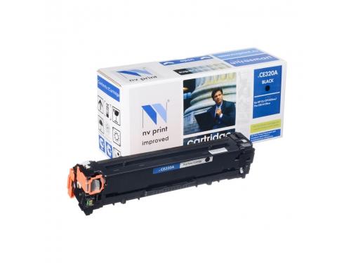Картридж для принтера NV-Print для HP №128A (CE320A), чёрный, вид 1