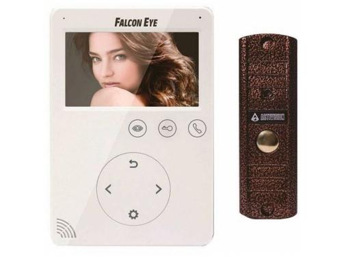 Видеодомофон Falcon Eye FE-VELA + AVP-508 PAL, белый, вид 1
