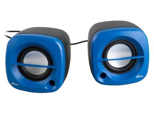 Компьютерная акустика Ritmix SP-2030, синяя с черным, вид 1