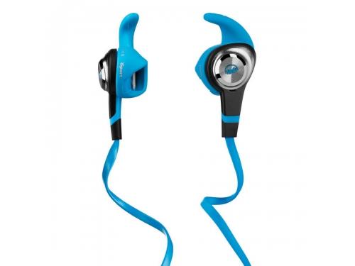 Гарнитура для телефона Monster iSport Strive UCT3, голубая, вид 1