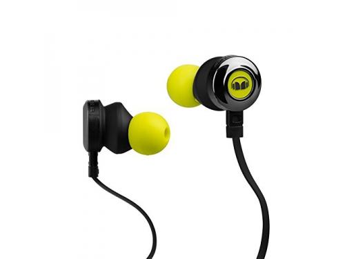 Гарнитура для телефона MONSTER Clarity HD High Definition In-Ear, зелёная, вид 1