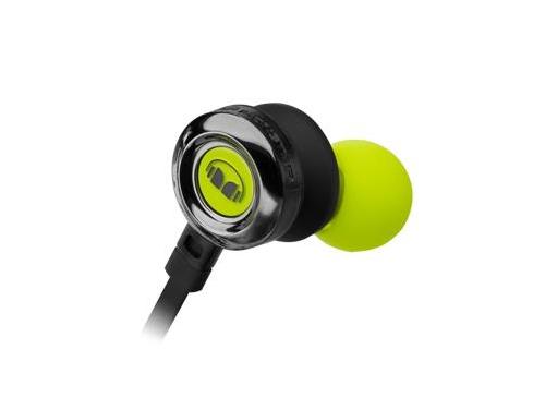 Гарнитура для телефона MONSTER Clarity HD High Definition In-Ear, зелёная, вид 3