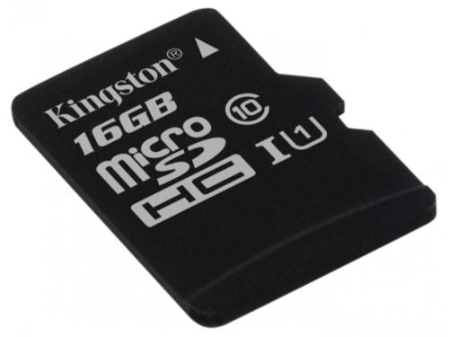 Карта памяти Kingston SDC10G2/16GBSP (class 10), вид 1