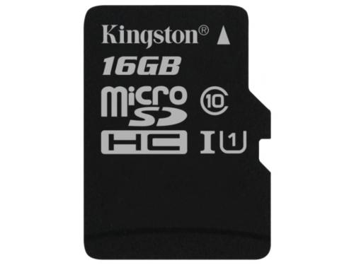 Карта памяти Kingston SDC10G2/16GBSP (class 10), вид 2