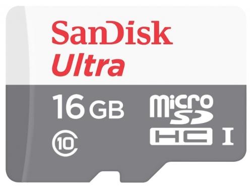 Карта памяти SanDisk Ultra microSDHC Class 10 UHS-I 48MB/s 16GB 48MB/s, вид 2