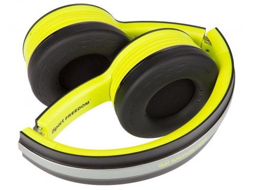Гарнитура для пк Monster iSport Freedom Bluetooth On-Ear, зелёная, вид 6