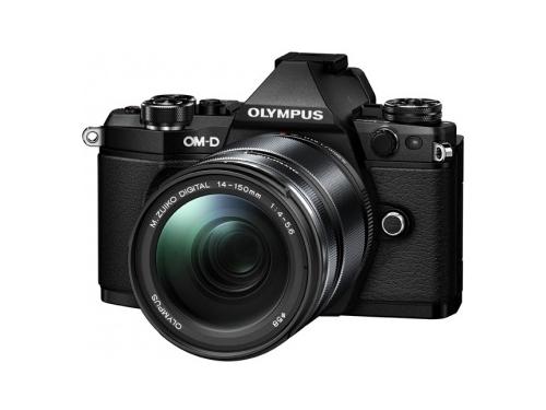Цифровой фотоаппарат Olympus OM-D E-M5 Mark II 14-150 Kit (EZ-M1415 II) Black, вид 1