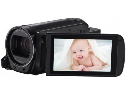 Видеокамера Canon LEGRIA HF R706, чёрная, вид 1