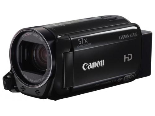 Видеокамера Canon LEGRIA HF R706, чёрная, вид 2
