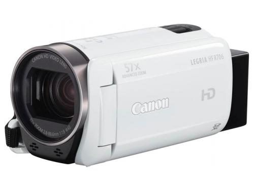 Видеокамера Canon LEGRIA HF R706, белая, вид 1