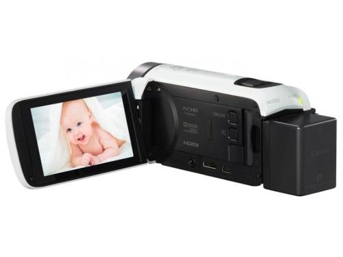 Видеокамера Canon LEGRIA HF R706, белая, вид 3