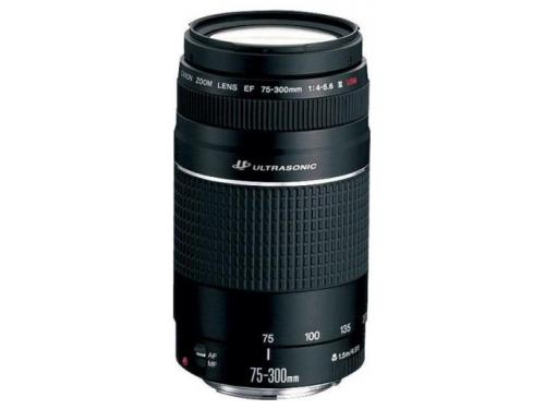 Объектив для фото Canon EF 75-300mm f/4-5.6 III USM (6472A012) черный, вид 1