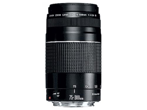 Объектив для фото Canon EF 75-300mm f/4-5.6 III (6473A015), вид 1