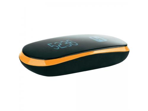Фитнес-браслет Medisana ViFit Connect, черный/оранжевый, вид 4