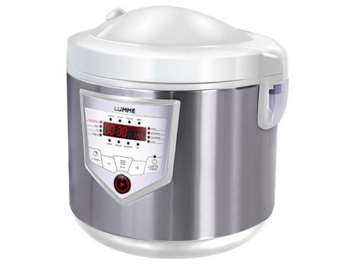 Мультиварка Lumme LU-1446 Chef pro white/silver, вид 1