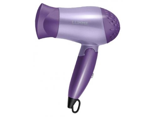 Фен / прибор для укладки Lumme LU-1029,  фиолетовый чароит, вид 1