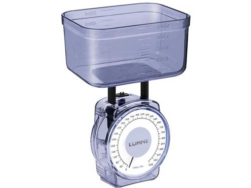 Кухонные весы Lumme LU-1301, синий сапфир, вид 1
