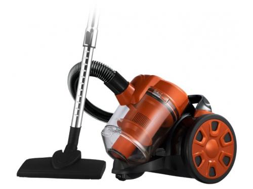 Пылесос Home Element HE-VC1801, черный/оранжевый, вид 1