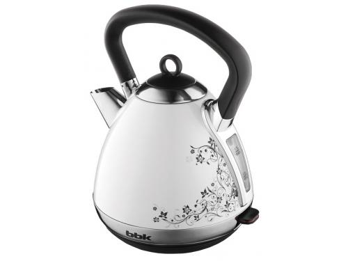 Чайник электрический BBK EK1710S, белый/чёрный, вид 1
