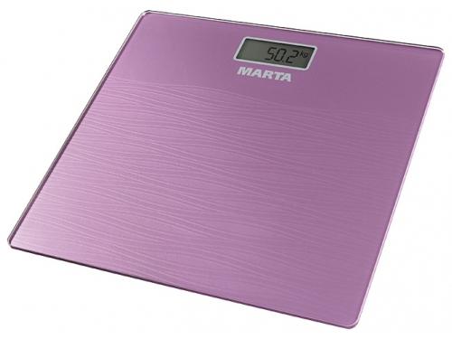 Напольные весы MARTA MT-1677 сиреневый, вид 1