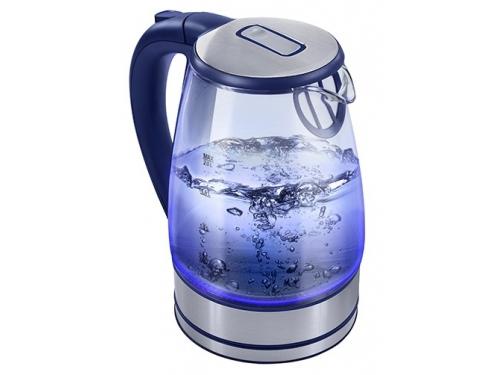 Чайник электрический Home-Element HE-KT150, синий, вид 1