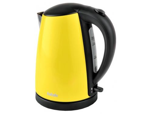 Чайник электрический BBK EK1705S, жёлтый, вид 1