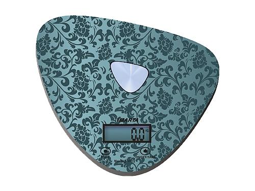Кухонные весы Marta MT-1632, черные/блестящие, вид 2