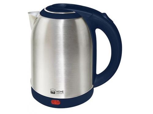 Чайник электрический Home-Element  HE-KT155, синий, вид 1
