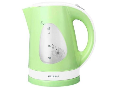 Чайник электрический Supra KES-1708 белый/фисташковый, вид 1