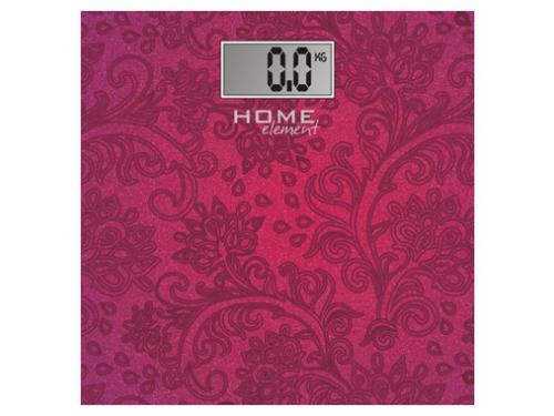 Напольные весы Home Element HE-SC904, розовыe, вид 1