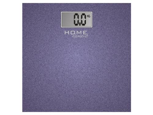 Напольные весы Home Element HE-SC904, лиловыe блестящиe, вид 1
