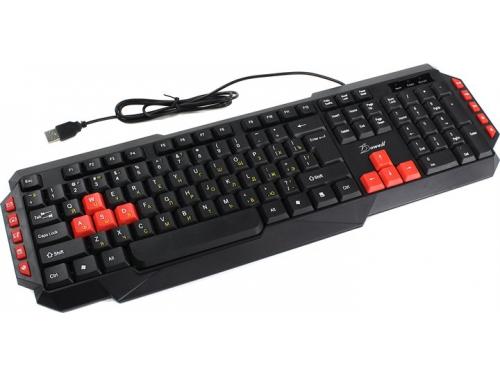 Клавиатура Dowell KB-G211 черный, вид 1