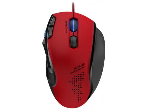 Мышь Speedlink Scelus Черно-красная, вид 1