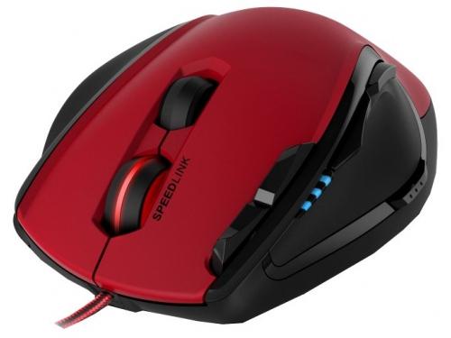Мышь Speedlink Scelus Черно-красная, вид 2