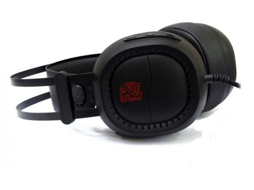Гарнитура для ПК Tt eSports Shock Pro RGB (HT-HSE-ANECBK-23), черная, вид 1