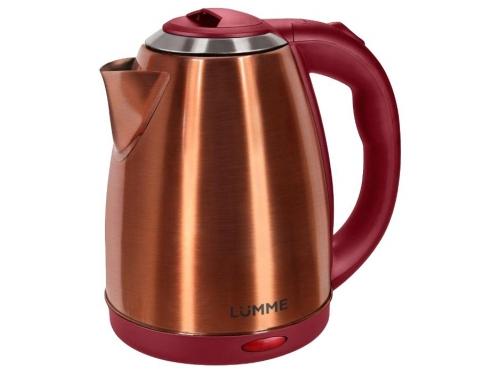 Чайник электрический Lumme LU-132, красный рубин, вид 1