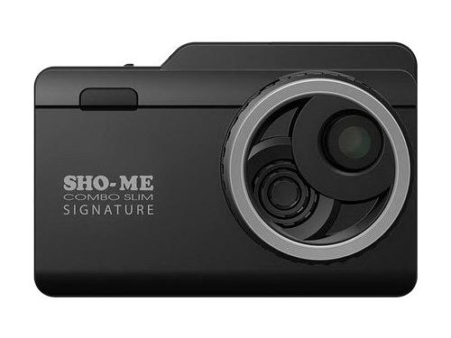 Автомобильный видеорегистратор Sho-Me Combo Slim Signature, вид 1