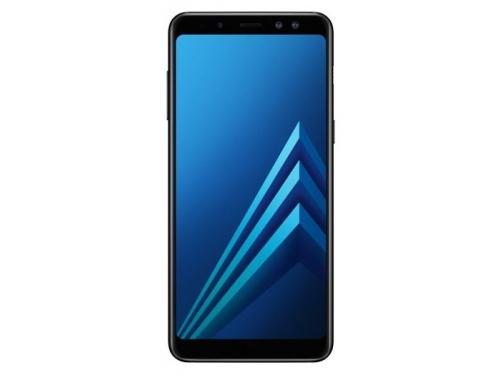 Смартфон Samsung Galaxy A8 (2018) SM-A530, черный, вид 1