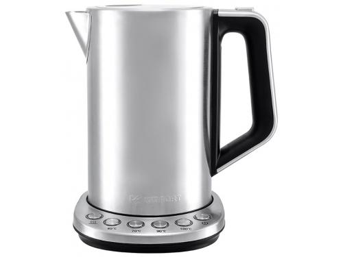 Чайник электрический Kitfort КТ-621 (нержавеющая сталь/пластик), вид 1