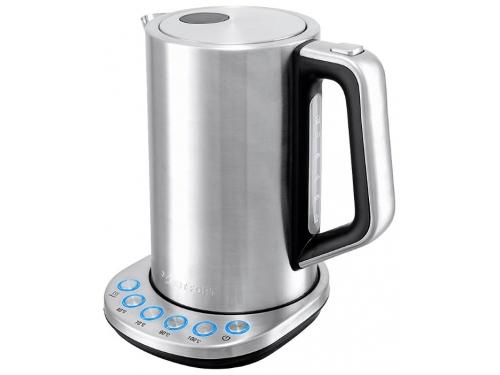 Чайник электрический Kitfort КТ-621 (нержавеющая сталь/пластик), вид 2