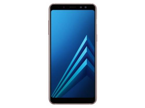 Смартфон Samsung Galaxy A8 (2018) SM-A530 (2 sim), синий, вид 1