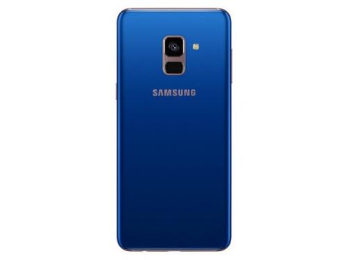 Смартфон Samsung Galaxy A8 (2018) SM-A530 (2 sim), синий, вид 2