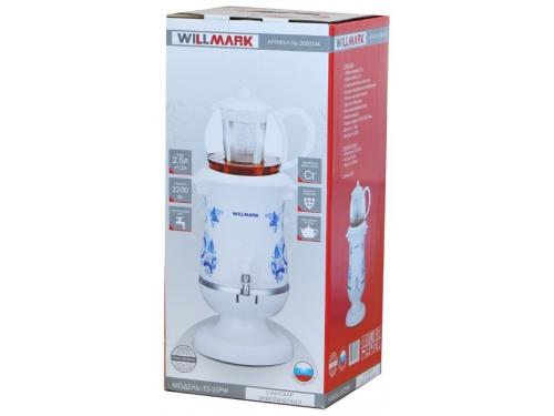 Чайник электрический Willmark ES-25PW, самовар, вид 2