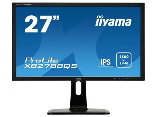 Монитор Iiyama XB2788QS-B1, черный, вид 2